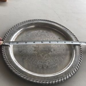 Silver plated dish by Wm. A. Rogers